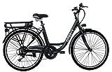 Nilox 30NXEB266VFM1V2 - Bicicleta eléctrica E Bike 36V 7.8AH 26X1.75P - J5, Motor 36 V 250 W, batería Recargable Samsung de Litio 36 V 8 Ah, Carga...
