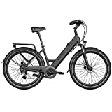 Legend eBikes Milano 36V10.4Ah Bicicleta Eléctrica Unisex Adulto, Onyx Black, Talla Única