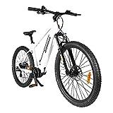 Accolmile Bicicleta Eléctrica de Montaña de 27,5 Pulgadas, M200 Torque Mid Motor 36V 250W, Batería de Litio de 15 Ah, Horquilla Delantera con...