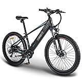 ESKUTE Bicicleta Eléctrica de Montaña 'Voyager' 27,5'' E-Bike MTB Pedal Assist, Batería de Litio 48V 10Ah, Bicicleta Eléctrica para Adultos...