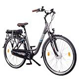 NCM Munich N8C 28' Bicicleta eléctrica City E-Bike, Batería 36V 13Ah 468Wh, Motor Frontal y con Freno a contrapedal